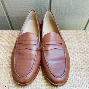 NEW J Crew H8200 Ryan Penny Loafers Leather Nora